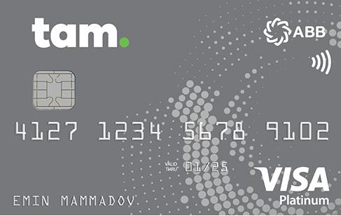 TamKart VISA Platinum PayWave - Debet,  TamKart VISA Platinum Debet