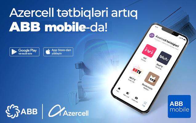 iba mobile, azercell tətbiqləri, azercell tetbiqleri