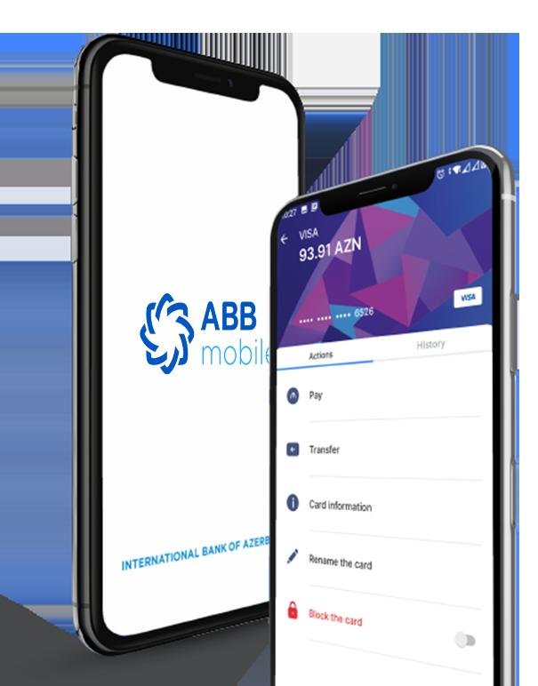 ABB mobile ilə Bank əməliyyatlarınızı bir toxunuşla aparın
