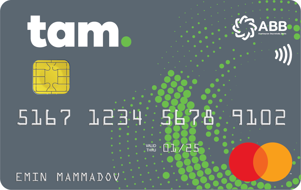 TamKart MasterCard Standard PayPass - Debet