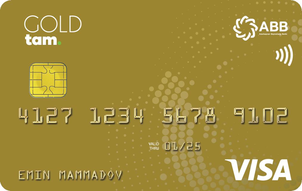 TamKart VISA Gold PayWave - Debet