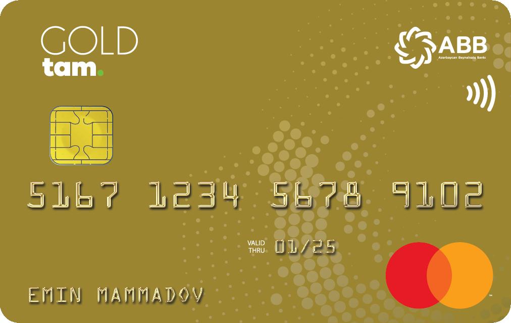 TamKart MasterCard Gold PayPass - Debet
