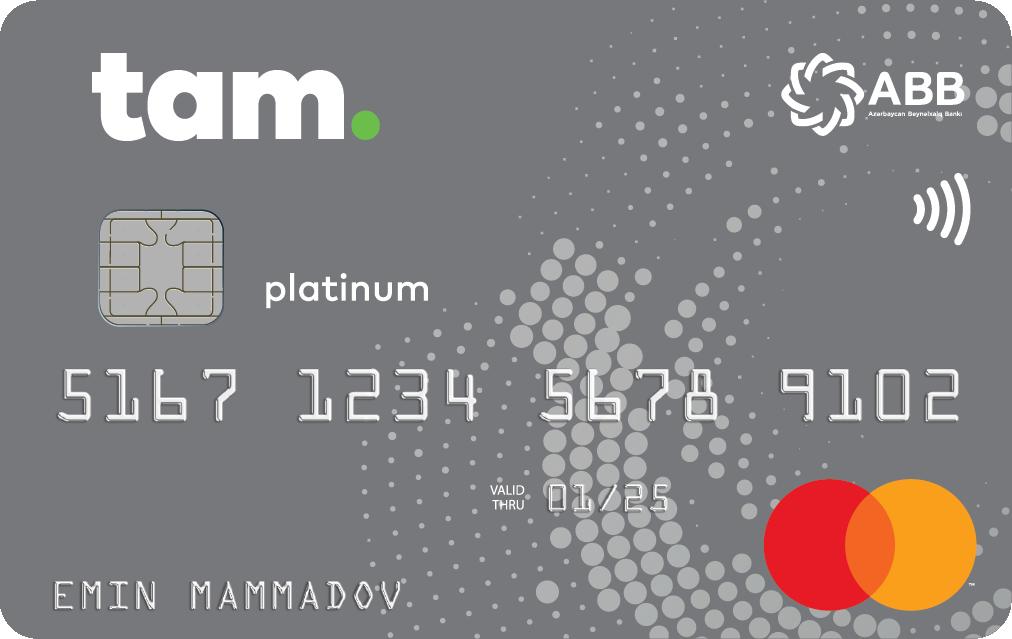 TamKart Platinum Mastercard Debet, TamKart Platinum PayPass - Debet
