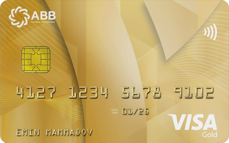 VISA Gold PayWave