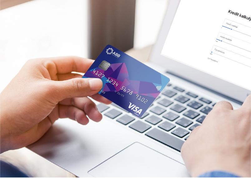 kart uzre kredit limiti, kart üzrə kredit limiti