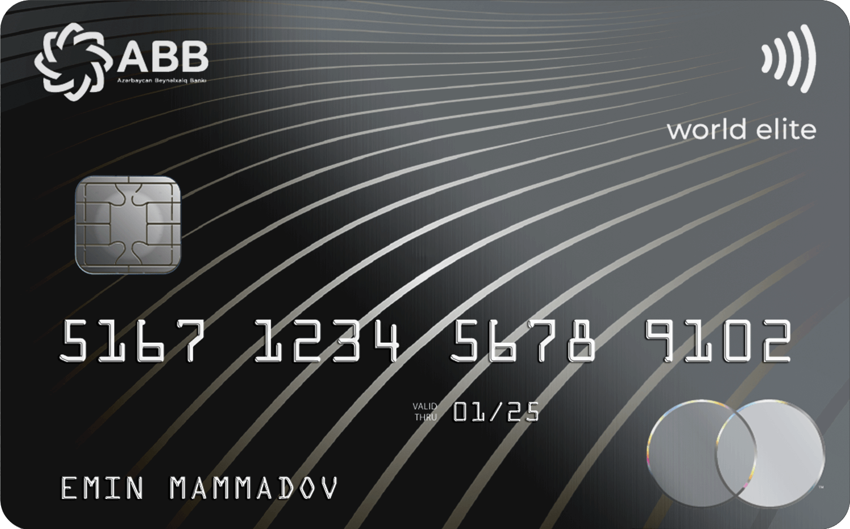 MasterCard World Elite PayPass, MasterCard World Elite
